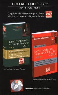 Coffret collector les 2 guides de la Revue du vin de France