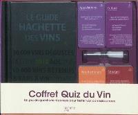 Coffret Quiz du vin : un jeu de questions-réponses pour tester vos connaissances