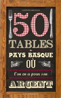 50 tables du Pays basque où l'on en a pour son argent !