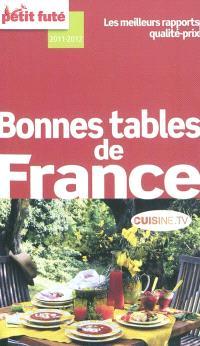 Bonnes tables de France : 2011-2012