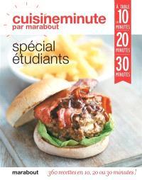 Spécial étudiants : à table en 10 minutes, 20 minutes, 30 minutes