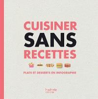 Cuisiner sans recettes : plats et desserts en infographie