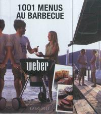 1.001 menus au barbecue Weber