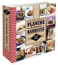 Plancha, brochettes, barbecue