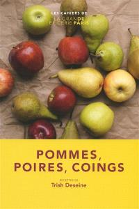 Pommes, poires, coings