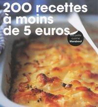 200 recettes à moins de 5 euros