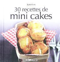 30 recettes de mini-cakes
