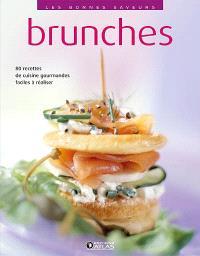 Brunches : 80 recettes de cuisine gourmandes, faciles à réaliser