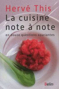 La cuisine note à note : en douze questions souriantes