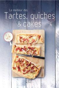 Le meilleur des tartes, quiches & cakes