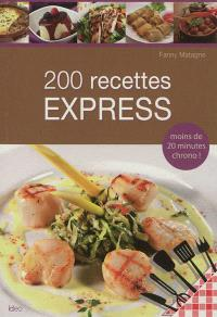 200 recettes express