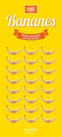 Bananes : recettes savoureuses pour tous les jours