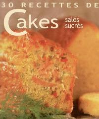 Cakes salés, sucrés