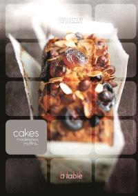 Cakes, madeleines, muffins...