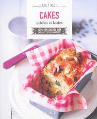 Cakes, quiches et tartes : vous reprendrez bien une part de gourmandise ?