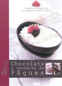 Chocolats et desserts de Pâques
