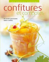 Confitures et compotes : 80 recettes gourmandes, faciles à réaliser