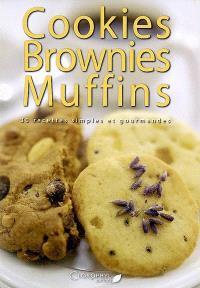 Cookies, brownies, muffins