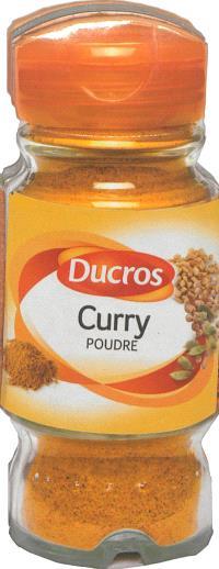 Curry poudre Ducros : les meilleures recettes