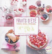 Fruits d'été : fraises, pêches, pastèques...