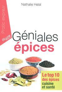 Géniales épices : le top 10 des épices cuisine et santé