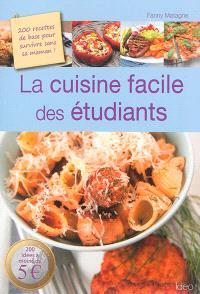 La cuisine facile des étudiants