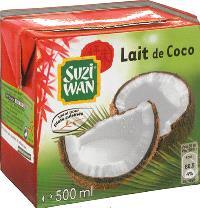 Lait de coco Suzi Wan : les meilleures recettes