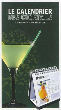 Le calendrier des cocktails : le hit des 52 top recettes