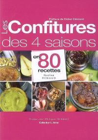 Les confitures des 4 saisons en 80 recettes