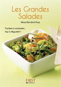 Les grandes salades : faciles à composer, top à déguster !