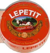 Les meilleures recettes au camembert Auguste Lepetit