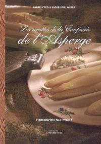 Les recettes de la Confrérie de l'asperge