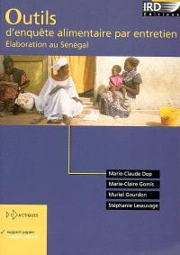 Outils d'enquête alimentaire par entretien : élaboration au Sénégal