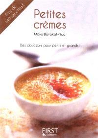 Petites crèmes : des douceurs pour petits et grands !