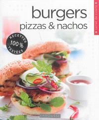 Pizzas, burgers & nachos