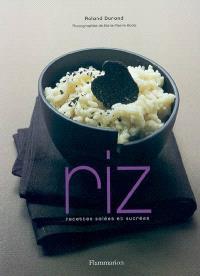 Riz, recettes salées et sucrées