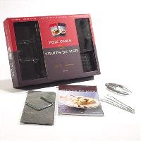 Foie gras, fruits de mer : coffret duo gourmand