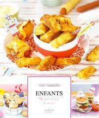 Enfants : mon premier livre de cuisine !