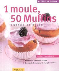 1 moule, 50 muffins sucrés et salés