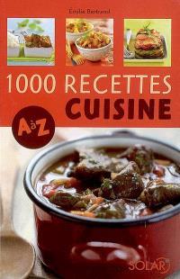 1.000 recettes cuisine, A à Z