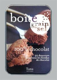 100 % chocolat : 50 douceurs pour tous les fondus de chocolat