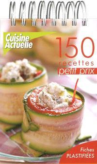 150 recettes petit prix : fiches plastifiées