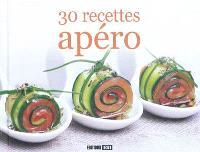 30 recettes apéro