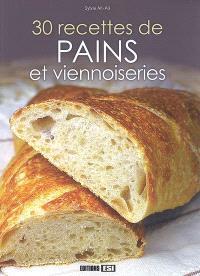 30 recettes de pains et viennoiseries