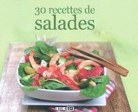 30 recettes de salades