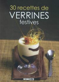 30 recettes de verrines festives