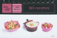 365 recettes : 1 idée par jour