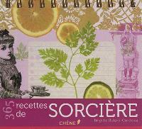 365 recettes de sorcière : calendrier perpétuel