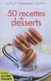 50 recettes de desserts