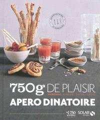 750 g de plaisir apéro dînatoire : sucré salé, classique, original, raffiné